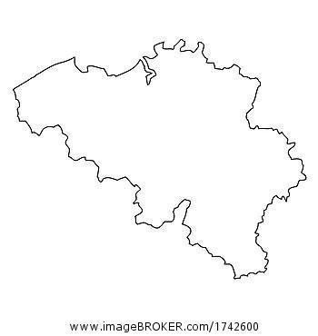 Belgien Karte Umriss.Imagebroker Com Your Partner For The Best Images